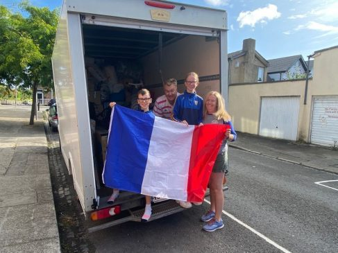 The Shalloo Family from Ireland moved to Lille in France.